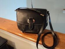 Authentic Michael Kors Romy Medium Messenger Crossbody Bag Leather Black NWT