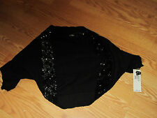 DKNY Sequined Shrug Wrap Med LG NEW with tag retail $225
