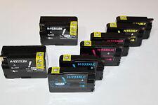 8 ink Cartridge 932 933 XL for HP OfficeJet Printer 6100 Photo 6600 6700 Premium