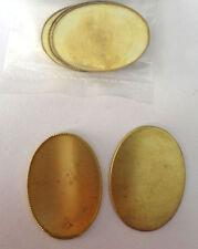 CRAFT - 5 GOLD BROOCH BACKS