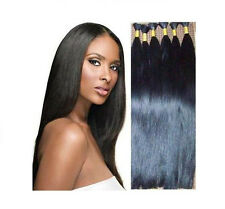 20'' Virgin Indian Remy Naturally Straight Bulk Hair Extensions