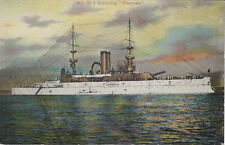Old Postcard - United States Battleship WISCONSIN