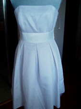 Ayln Paige Junior New Cocktail Dress Size 3-4 Gray strapless white belt CD27
