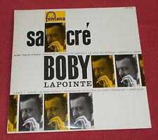 BOBBY LAPOINTE 25 CM REEDITION NUM SACRE BOBBY  NEUF