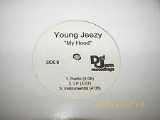 "Young Jeezy My Hood 12"" Single NM PROMO Def Jam 6-tracks"