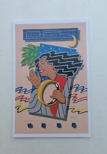 LOT (12) NEW 1983 NEW ORLEANS JAZZ HERITAGE FESTIVAL FEST POSTER CARD POSTCARDS