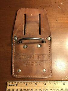 Vintage Stanley HH2 Hammer Holster Beige Made in USA