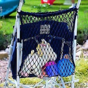 .Stroller/Buggy Shopping Bag Storage Net BLACK fits Maclaren, Quinny Buzz Zapp,,