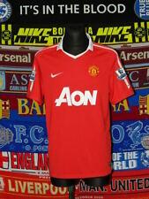 4/5 Manchester United adults L 2010 football shirt jersey trikot soccer