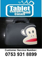 """Black Paul Frank Monkey Hard Shell Carry Case/Bag for 9.7""""/10"""" Inch Tablet PC"""
