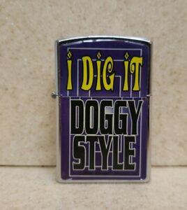 "Vintage Novelty Lighter Kalan "" I DIG IT DOGGY STYLE"""