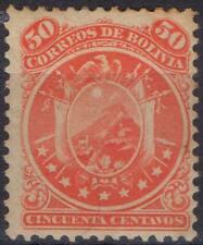 BOLIVIE !  Timbres anciens NEUFS de 1890 n°32 et 1894 n°40 et 45