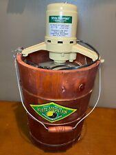Vintage White Mountain 6 Qt. Electric Ice Cream Maker Freezer Model F69206