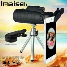 50X60 Zoom Optical Mobile Phone Prism Monocular Telescope + Tripod + Camera Clip