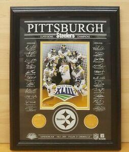 Highland Mint Pittsburgh Steelers Team Framed Photo Super Bowl XLIII 153/5000