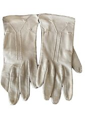 One Pair Fownes Leather Woman's Gloves Vintage Amsterdam New York 1950s/1960s?