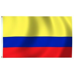 5'x8' Colombia Colombian Flag 5x8 Foot Flag Banner Large