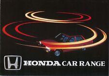 Honda Range Civic Quintet Accord Prelude 1982 original Sales Brochure