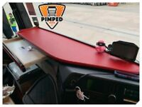 TRUCK TABLE MERCEDES Actros MP4 Large With Drawer in Red