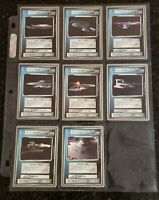 Star Trek TNG CCG - 13 1995 Silver-Border Cards - Federation Ships Never played