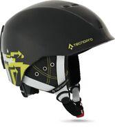 TecnoPro Jugend Erwachsenen Ski-Helm Skihelm XT IS8 Team black / green lime