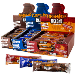 Grenade Reload Protein Oat Bars 70g   BRAND NEW   x1/x3/x6/x12   x3 Flavours