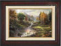 Thomas Kinkade Reflections of Family 24 x 36 Limited Edition G/P Canvas
