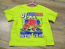 The Children's Place T-Shirt Dj Crab 70 9-12 months Yellow Super Cute