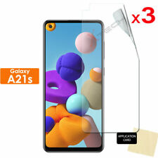 3 Pack of Samsung Galaxy A21s CLEAR Screen Protector Cover Guards