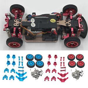 20Pcs Upgrade Parts WLtoys 1:28 P939 K969 K989 Steering Hub Tires RC Car