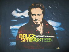 "2009 Bruce Springsteen and The East Street ""Working On A Dream"" (Lg) Shirt Blue"