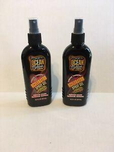 2 Vintage Ocean Potion Xtreme Xcelerator Spray Gel Bronzer IndoorOutdoor Tanning