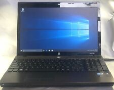 HP ProBook 4520s Laptop- 320GB HDD, 4GB RAM, Intel i3-380M CPU, Windows 10 Pro