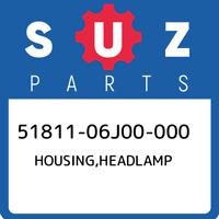 51811-06J00-000 Suzuki Housing,headlamp 5181106J00000, New Genuine OEM Part