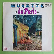"""LP MUSETTE DE PARIS AMIGA 845073 1970 WALZER RENÉ MAQUET 12"""" VINYL SCHALLPLATTEN"""