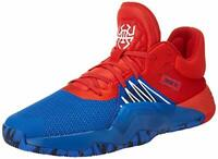 adidas Men's D.o.n. Issue #1 Basketball Shoe, Blue/Red/White, Size  SKby