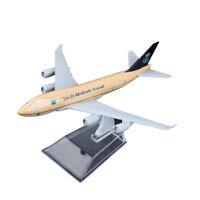 1:400 16cm B747 Saudi Arabian Airline Diecast Models Aircraft Aeroplane Plane