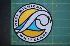 "West Michigan Whitecaps 5"" MiLB Throwback Minor League Baseball Jersey Patch"