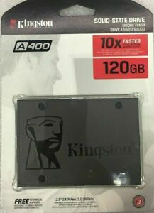 "BRAND NEW & FACTORY SEALED- KINGSTON A400 2.5"" - 120GB HDD/SSD SATA III"