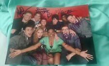 Adam Lambert+Cast Signed 8X10 Photo American Idol Season 8 Top 10 W/Coa+Proof
