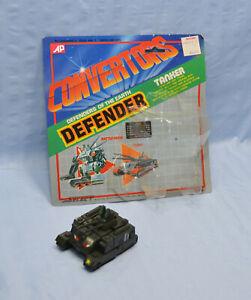 Convertors Defenders TANKER w/ Cardback & attached Bubble Transformer tank