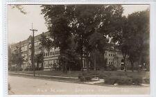 HIGH SCHOOL, SHELDON: Iowa USA postcard (C18934)
