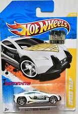 HOT WHEELS 2011 NEW MODELS SPEED TRAP #15/50 WHITE FACTORY SEALED