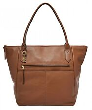Fossil bolso de bandolera Fiona Tote Medium Brown