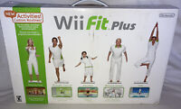 Nintendo Wii Fit Plus Bundle with Balance Board, Game, Instructions, Feet BNIB