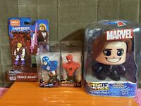Marvel Black Widow Mighty Muggs~makes 3 Faces #05~2 Marvel Paperweights & HE-MAN