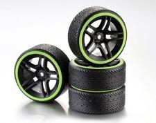 ABSIMA räderset Drift 10-rayons 'profil B' jante noir/Bague néo - 2510050