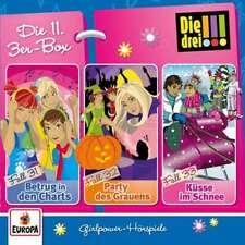 3 CDs * DIE DREI !!! (AUSRUFEZEICHEN) - BOX 11 - FOLGEN 31 - 33 # NEU OVP =