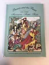 BEAUTY AND BEAST AND OTHER FANTASTIC FAIRY TALES Pop-Up book 1994