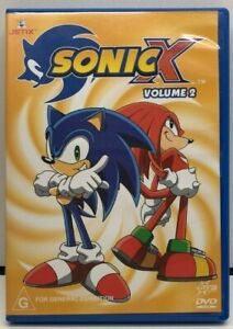 Sonic X Volume 2 - DVD - AusPost with Tracking